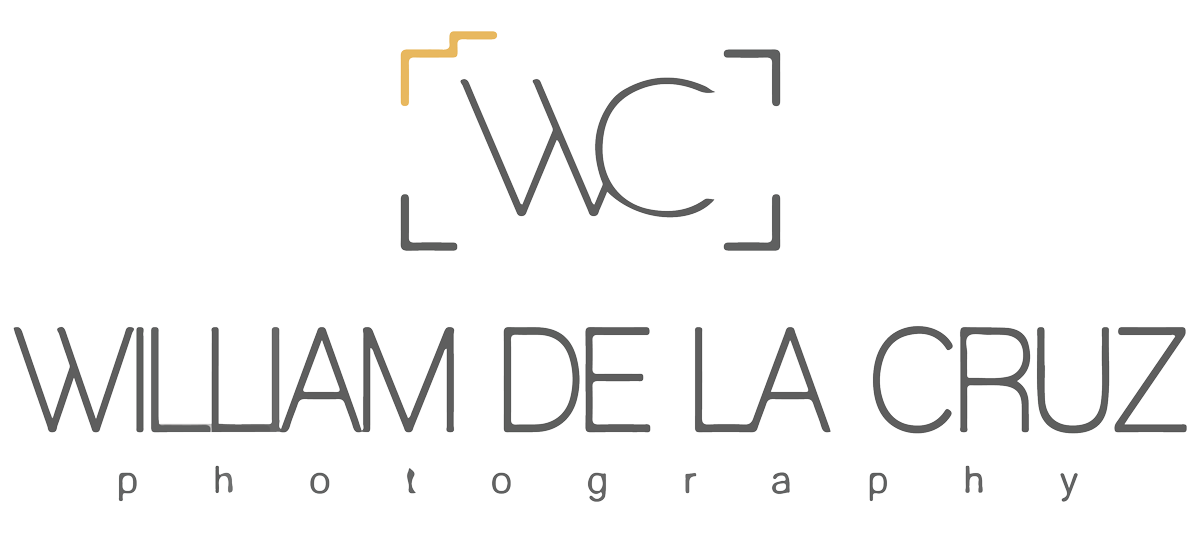 William de la Cruz Destination Wedding Photographer Logo
